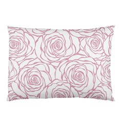 Pink Peonies Pillow Case by 8fugoso
