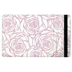 Pink Peonies Apple Ipad 3/4 Flip Case by 8fugoso