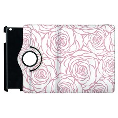 Pink Peonies Apple Ipad 2 Flip 360 Case by 8fugoso