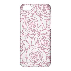Pink Peonies Apple Iphone 5c Hardshell Case by 8fugoso