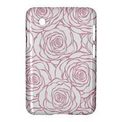Pink Peonies Samsung Galaxy Tab 2 (7 ) P3100 Hardshell Case  by 8fugoso