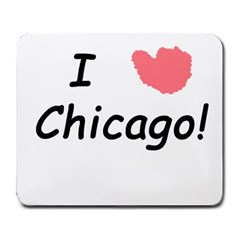 I Heart Chicago  Large Mousepads by SeeChicago