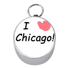I Heart Chicago  Mini Silver Compasses by SeeChicago