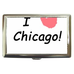 I Heart Chicago  Cigarette Money Cases by SeeChicago
