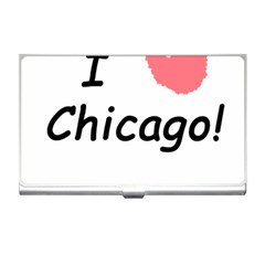 I Heart Chicago  Business Card Holders by SeeChicago