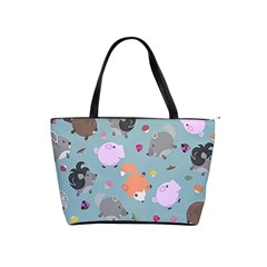 Little Round Animal Friends Shoulder Handbags