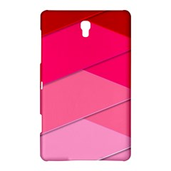 Geometric Shapes Magenta Pink Rose Samsung Galaxy Tab S (8 4 ) Hardshell Case  by Celenk