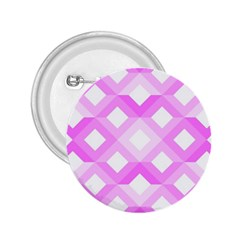 Geometric Chevrons Angles Pink 2 25  Buttons by Celenk