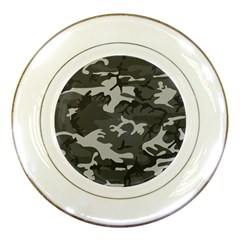 Camouflage Pattern Disguise Army Porcelain Plates