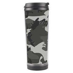 Camouflage Pattern Disguise Army Travel Tumbler by Celenk
