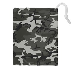 Camouflage Pattern Disguise Army Drawstring Pouches (xxl)