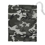 Camouflage Pattern Disguise Army Drawstring Pouches (XXL) Front