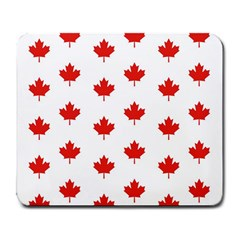 Maple Leaf Canada Emblem Country Large Mousepads by Celenk
