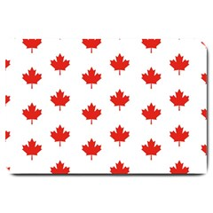 Maple Leaf Canada Emblem Country Large Doormat  by Celenk