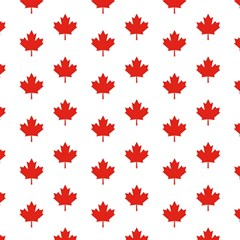 Maple Leaf Canada Emblem Country Magic Photo Cubes by Celenk