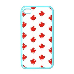 Maple Leaf Canada Emblem Country Apple Iphone 4 Case (color)