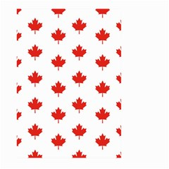 Maple Leaf Canada Emblem Country Large Garden Flag (two Sides) by Celenk