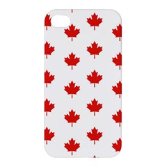 Maple Leaf Canada Emblem Country Apple Iphone 4/4s Premium Hardshell Case by Celenk
