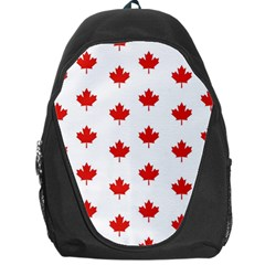 Maple Leaf Canada Emblem Country Backpack Bag