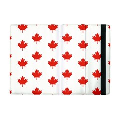 Maple Leaf Canada Emblem Country Apple Ipad Mini Flip Case by Celenk