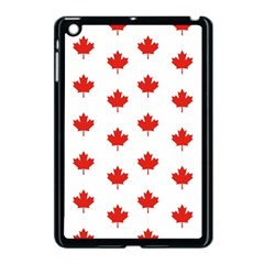 Maple Leaf Canada Emblem Country Apple Ipad Mini Case (black) by Celenk