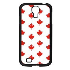 Maple Leaf Canada Emblem Country Samsung Galaxy S4 I9500/ I9505 Case (black) by Celenk