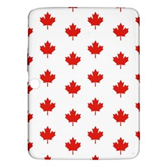 Maple Leaf Canada Emblem Country Samsung Galaxy Tab 3 (10 1 ) P5200 Hardshell Case  by Celenk