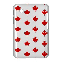 Maple Leaf Canada Emblem Country Samsung Galaxy Tab 2 (7 ) P3100 Hardshell Case  by Celenk