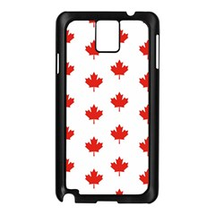 Maple Leaf Canada Emblem Country Samsung Galaxy Note 3 N9005 Case (black) by Celenk