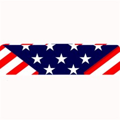 Patriotic Usa Stars Stripes Red Large Bar Mats