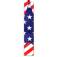 Patriotic Usa Stars Stripes Red Large Book Marks