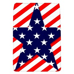 Patriotic Usa Stars Stripes Red Flap Covers (s)  by Celenk