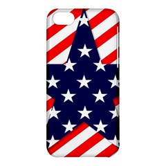 Patriotic Usa Stars Stripes Red Apple iPhone 5C Hardshell Case
