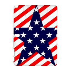 Patriotic Usa Stars Stripes Red Galaxy Note 1