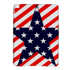 Patriotic Usa Stars Stripes Red iPad Air 2 Hardshell Cases