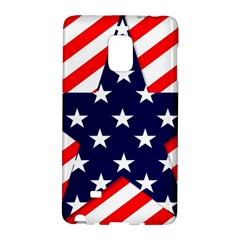 Patriotic Usa Stars Stripes Red Galaxy Note Edge