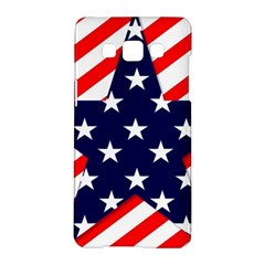 Patriotic Usa Stars Stripes Red Samsung Galaxy A5 Hardshell Case