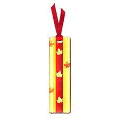 Autumn Fall Leaves Vertical Small Book Marks by Celenk