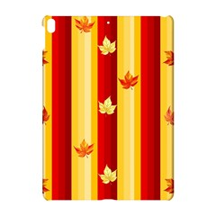 Autumn Fall Leaves Vertical Apple Ipad Pro 10 5   Hardshell Case by Celenk