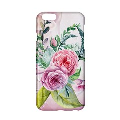 Flowers And Leaves In Soft Purple Colors Apple Iphone 6/6s Hardshell Case by FantasyWorld7