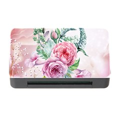 Flowers And Leaves In Soft Purple Colors Memory Card Reader With Cf by FantasyWorld7