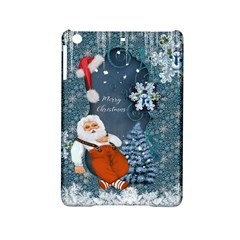 Funny Santa Claus With Snowman Ipad Mini 2 Hardshell Cases by FantasyWorld7