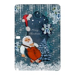 Funny Santa Claus With Snowman Samsung Galaxy Tab Pro 12 2 Hardshell Case by FantasyWorld7