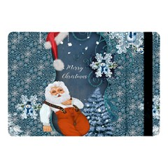 Funny Santa Claus With Snowman Apple Ipad Pro 10 5   Flip Case by FantasyWorld7