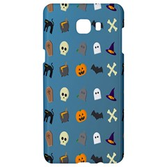 Halloween Cats Pumpkin Pattern Bat Samsung C9 Pro Hardshell Case  by Celenk