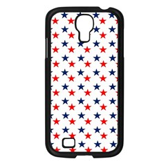 Patriotic Red White Blue Stars Usa Samsung Galaxy S4 I9500/ I9505 Case (black) by Celenk