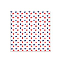 Patriotic Red White Blue Stars Usa Satin Bandana Scarf by Celenk