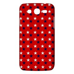 Patriotic Red White Blue Usa Samsung Galaxy Mega 5 8 I9152 Hardshell Case  by Celenk