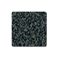 Camouflage Tarn Military Texture Square Magnet