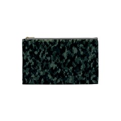 Camouflage Tarn Military Texture Cosmetic Bag (small)